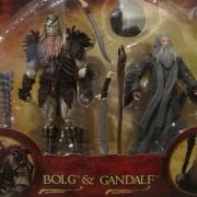 Juguete de Bolgo y Gandalf