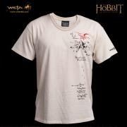 Camiseta del Mapa de Thrór