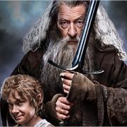 Bilbo y Gandalf en EW