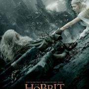 Poster de Gandalf y Galadriel en Dol Guldur de LBDLCE en HD