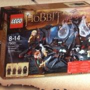 Lego - Huída de las Arañas del Bosque Negro