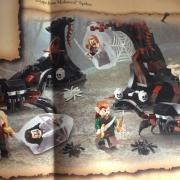 Lego - Huída de las Arañas del Bosque Negro2