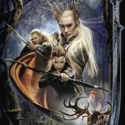 Poster elfico de La Desolación de Smaug