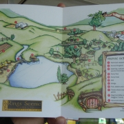 Folleto de Hobbiton