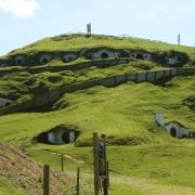 La colina de Bolsón cerrado