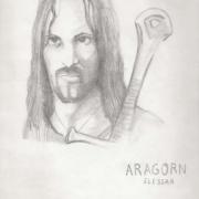 Aragorn Elessar por Turin_ca