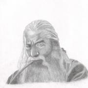 Gandalf el gris por ruby_bolson