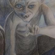Gollum por ruby_bolson