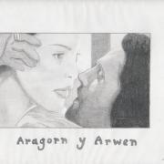 Aragorn y Arwen por Turin_ca