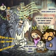 Los tres reyes magos y Gollum por vaninka