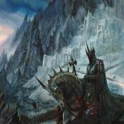 El Rey Brujo frente a Minas Morgul