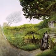 Gandalf regresa a Hobbiton