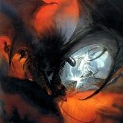Balrog y Gandalf