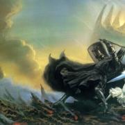 Morgoth y Fingolfin