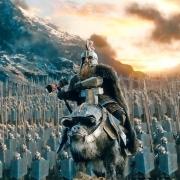 Gandalf recibe a Dáin Pie de Hierro