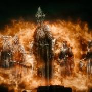 Sauron y los Nazgûl en Dol Guldur