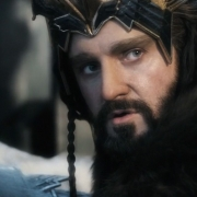 Balin y Thorin en el parapeto de Erebor