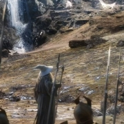 Gandalf intenta razonar con Dáin