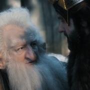 Balin aconseja a Thorin que se rinda