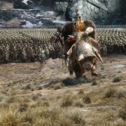 Dáin se prepara para la batalla