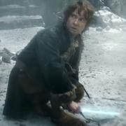 Bilbo por los suelos en la Colina del Cuervo