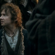Bilbo pregunta a Gandalf
