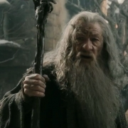 Gandalf advierte a Bilbo