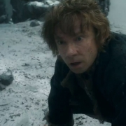 Bilbo en peligro en la Colina del Cuervo