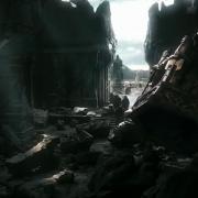 Bofur, Fili, Kili y Óin llegan a Erebor