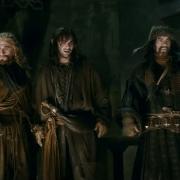 Óin, Fili, Kili, Bofur y Bilbo