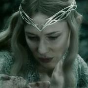 Galadriel y Gandalf en Dol Guldur