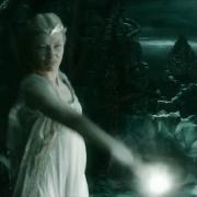 Galadriel en Dol Guldur, en acción
