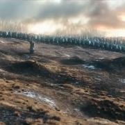 Los Enanos de las Colinas de Hierro llegan a la Montaña Solitaria
