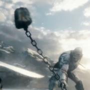 El duelo final entre Thorin y Azog
