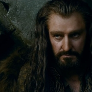 Thorin en Erebor tras hablar con Bardo