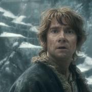 Bilbo asustado en la Colina del Cuervo