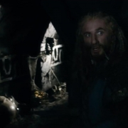 Fili y Kili en un túnel de Erebor