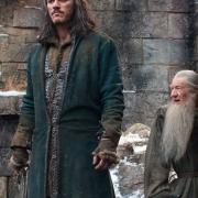 Bardo y Gandalf descansan en Valle
