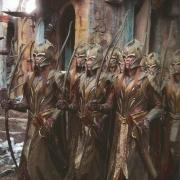 Los Elfos del Bosque Negro llegan a Valle