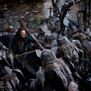 Bardo y los Hombres se enfrentan a los Orcos