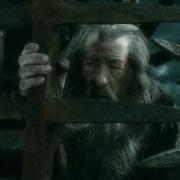 Gandalf encerrado en Dol Guldur