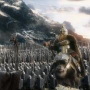 Dáin se presenta ante Gandalf