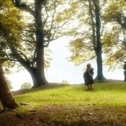 Bilbo y Gandalf se despiden