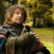 Bilbo se despide de Gandalf