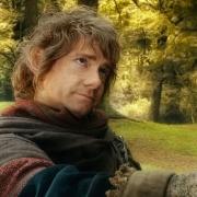 Bilbo se despide de Gandalf el Gris