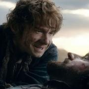 Bilbo se despide de Thorin
