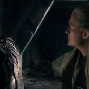 Thranduil y Legolas en la Colina del Cuervo