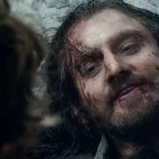 Thorin se despide de Bilbo