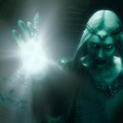 Galadriel se enfrenta a Sauron en Dol Guldur