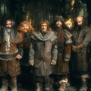 Dori, Glóin, Bifur, Bombur, Ori, Bofur, Dwalin, Nori y Óin